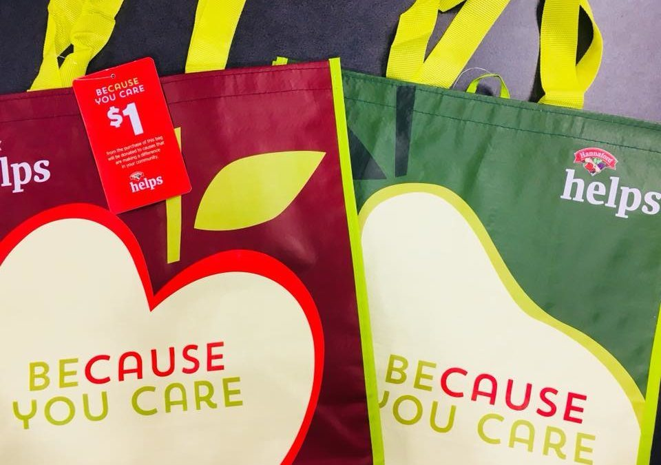 Hannaford Helps: Bags for a Cause