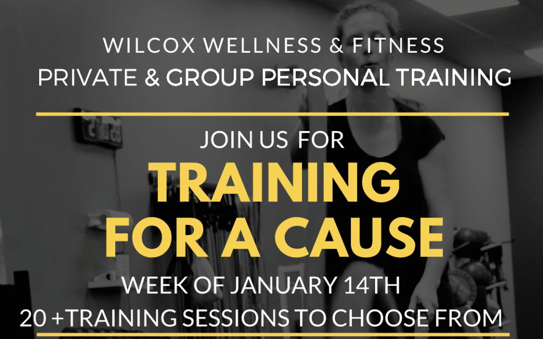 Kick-Start the New Year: Train for a Cause