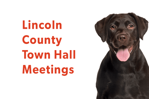 Upcoming Town Halls in Lincoln County