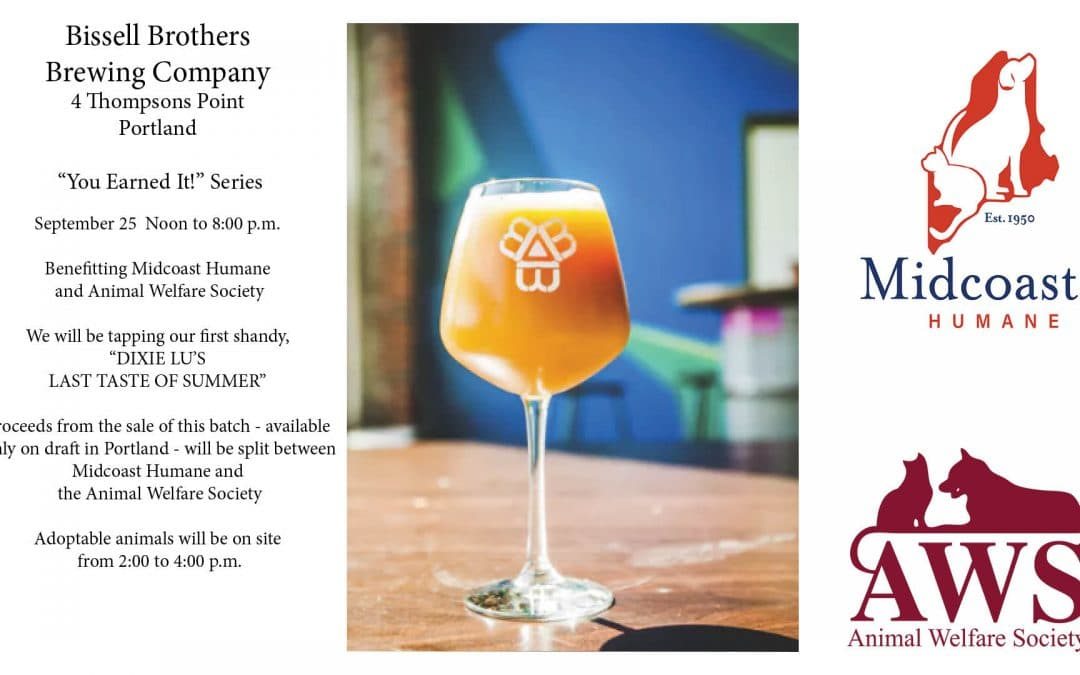"""Bissell Brothers Brewing Company """"You've Earned It"""" Fundraiser"""
