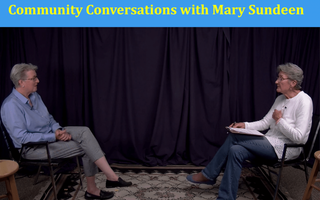 Mary Sundeen on Lincoln County Television!