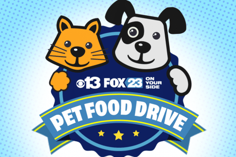 Pet Food Drive With CBS 13 & Fox23